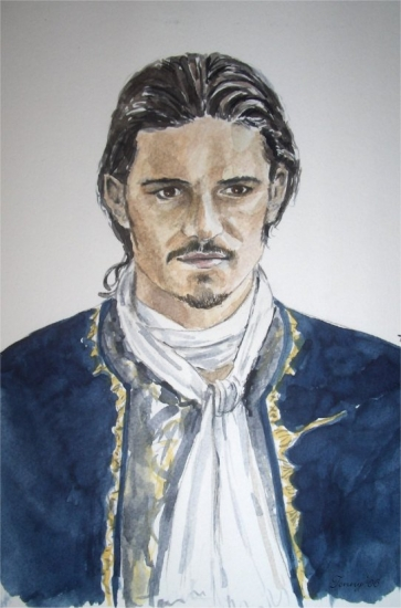 Orlando Bloom by Powerfulwoodelf